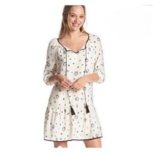 Kenzie Owl and dots shift dress small